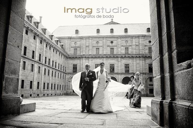 boda en el Escorial