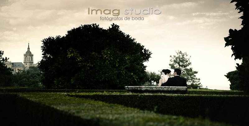 Fotografias de boda en el Escorial y Finca Cañada Real