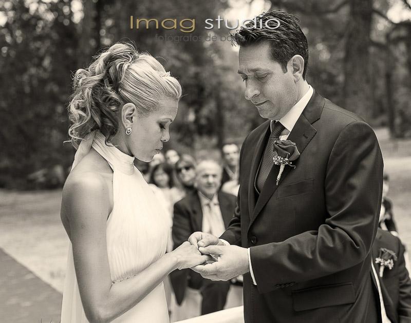 Fotografias de boda en el Castillo de Batres