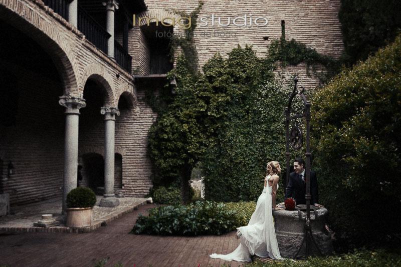 boda castillo de batres