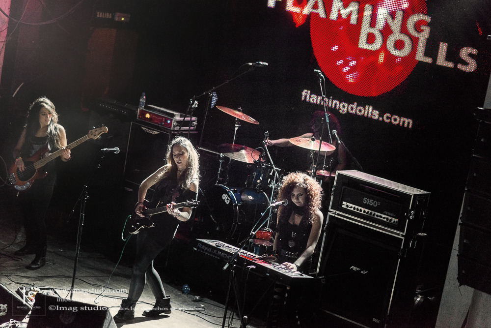 Flaming Dolls en la Sala Arena_18