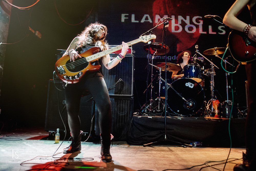Flaming Dolls en la Sala Arena_47