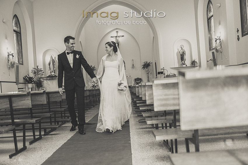 Parroquia San Matias fotografias de boda