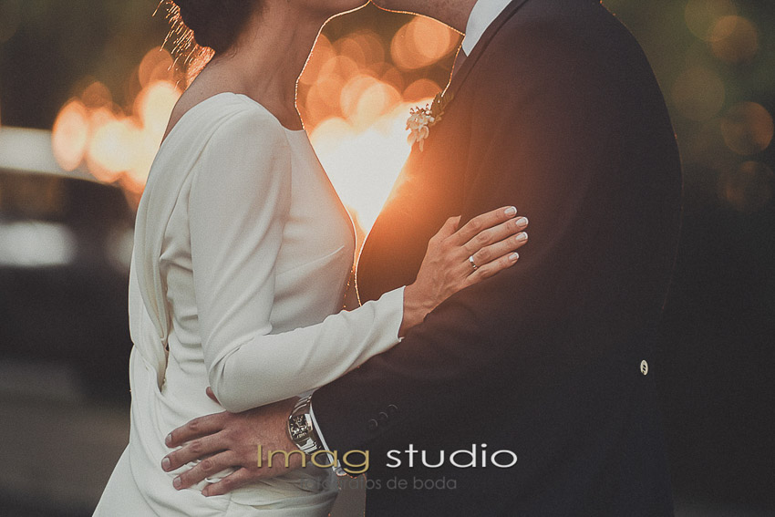 Fotografias de boda en el Palacio de la Misión Madrid