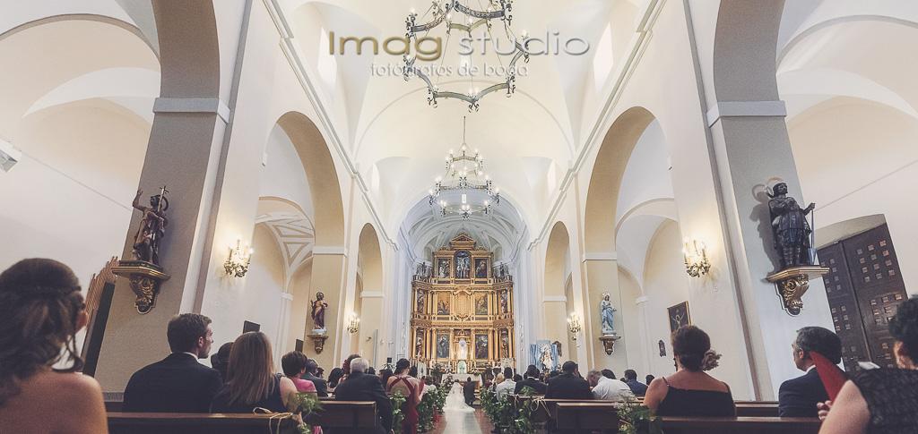 Virgen de la Antigua Vicálvaro fotografias de boda