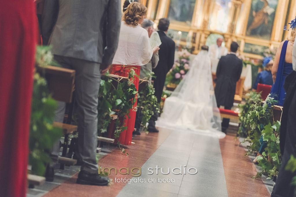Virgen de la Antigua Vicálvaro fotografías de boda