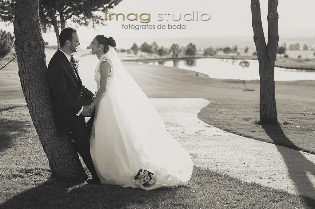 club de golf retamares fotografias de boda