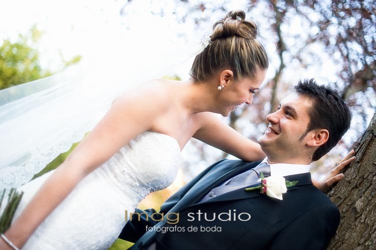Fotógrafias de boda en Residencia Aurora Navalcarnero