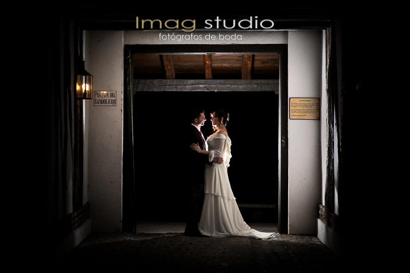 Fotografía de boda en la Posta Real